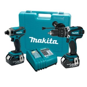 Makita XT260 18-volt LXT Lithium-Ion Cordless Combo Kit 2-Piece